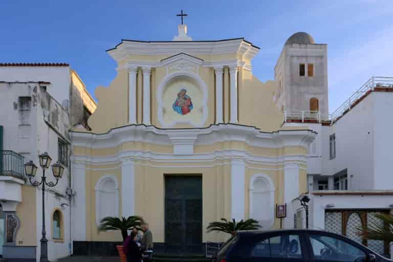 Chiese Ischia - Chiesa di Santa Maria delle Grazie