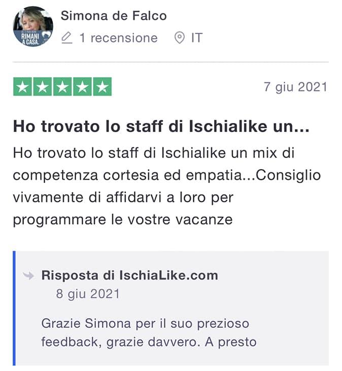 recensioni IschiaLike,com Trust Pilot